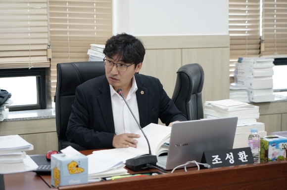 조성환 경기도의원(파주1)은 3일 대북전단 살포는 접경지역 주민 생명과 안전을 위협하는 행위이기에 금지시키는 것은 정당하다고 밝혔다.[사진-통일뉴스 위정량 통신원]