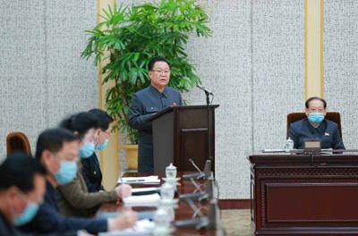 지난 3월 만수대의사당에서 진행된 북한 최고인민회의 상임위원회 제14기 제13차 전원회의 광경. [통일뉴스 자료사진]